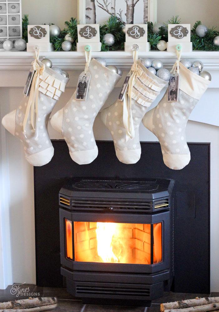16 DIY Christmas Stockings Full Of Santa's Gifts