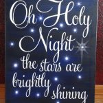 20 Christmas Sign Ideas With lights