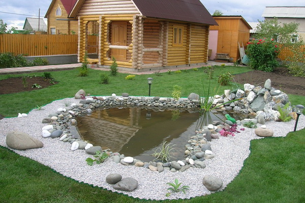 19 Beautiful backyard pond ideas