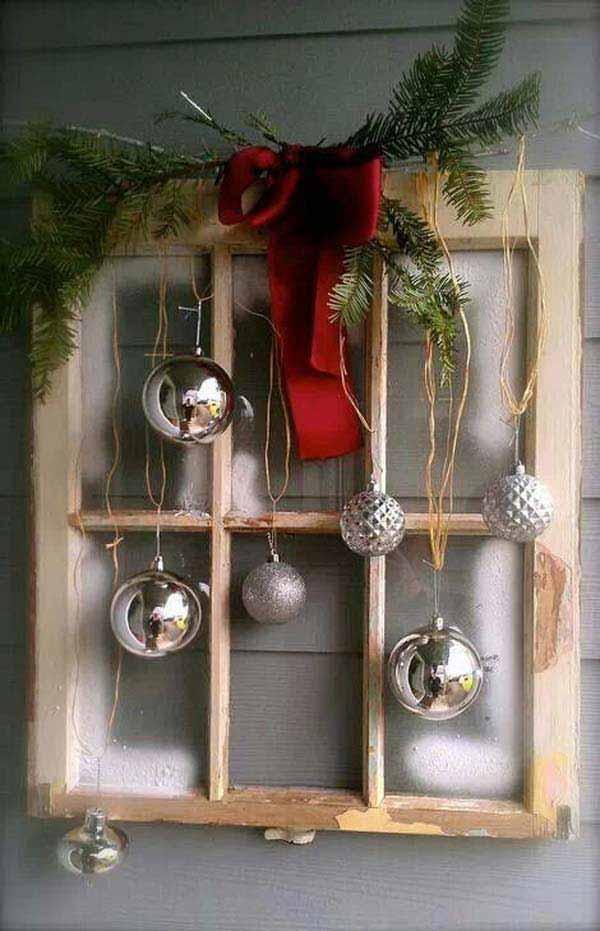 christmas wall dcor ideas - Vintage Christmas Wall Decor