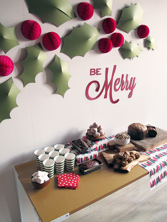 christmas wall dcor ideas - Christmas Wall Decor