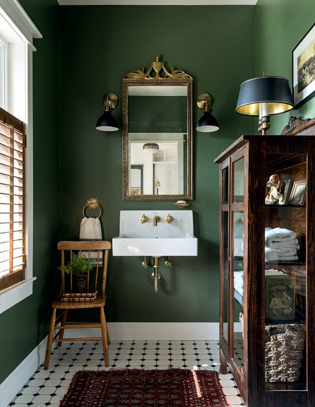 Trend Of The Year - Green Bathroom Decoration Ideas