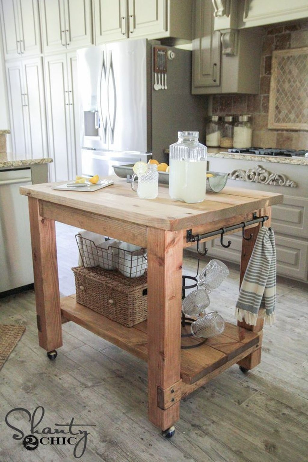 Tips for Kitchen Island Organization Ideas (9)