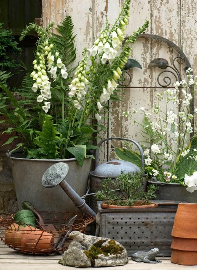 20 Most Beautiful Vintage Garden Ideas