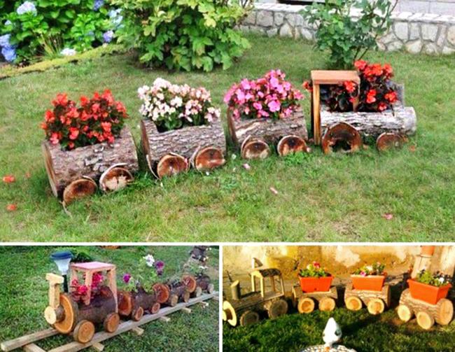 Repurposed Garden Decoration Ideas