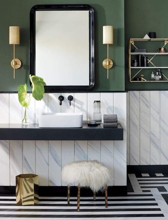Trend Of The Year – Green Bathroom Decoration Ideas
