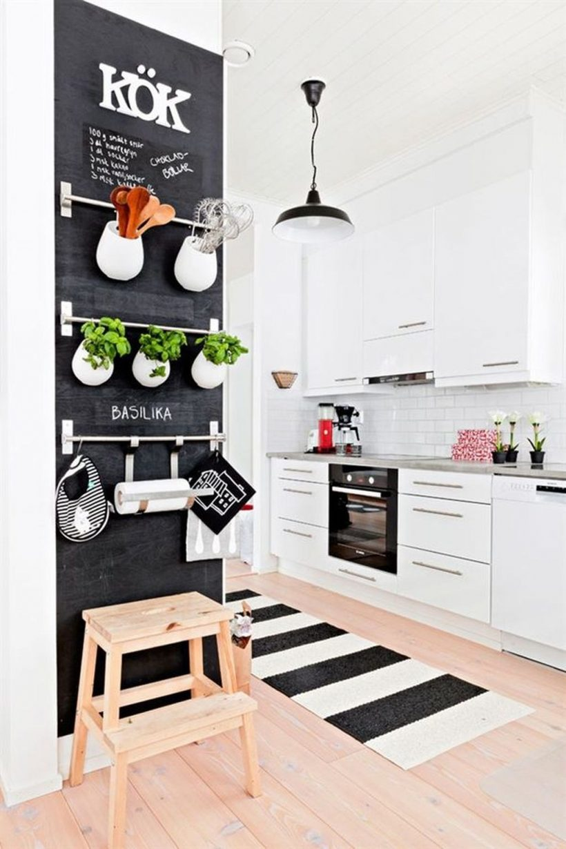 Basic Theme Of Scandinavian Kitchen Decor Ideas